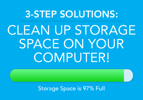 clean storage space